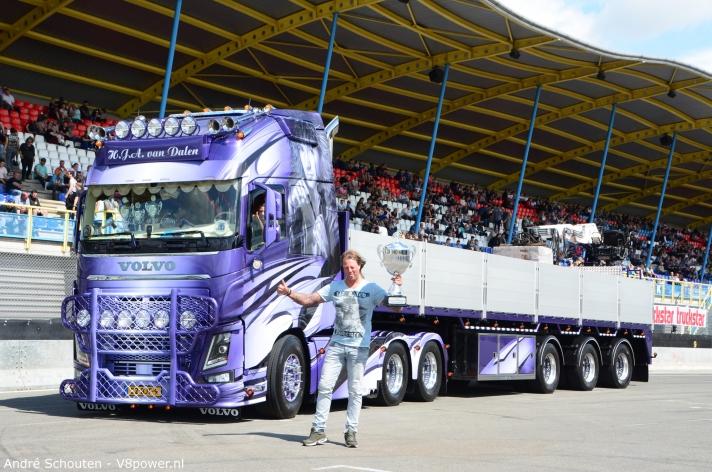 Harry van Dalen Mooiste truck van Nederland