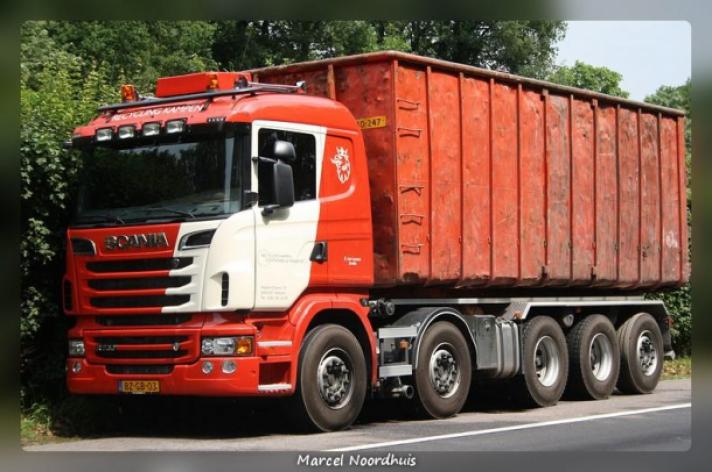 Scania R730 voor Recycling Kampen
