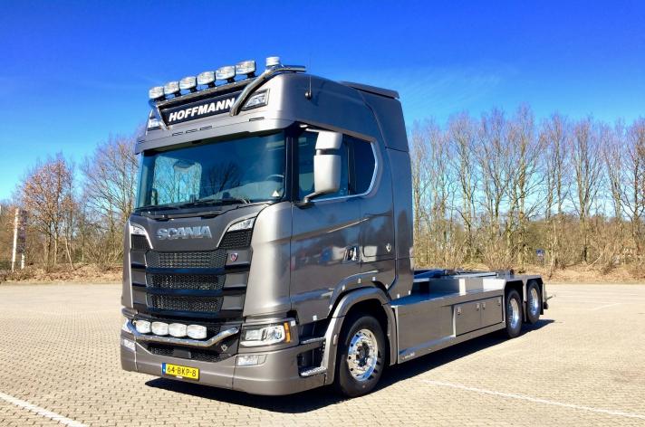 Nieuwe Scania S650 voor Hoffmann Metalen