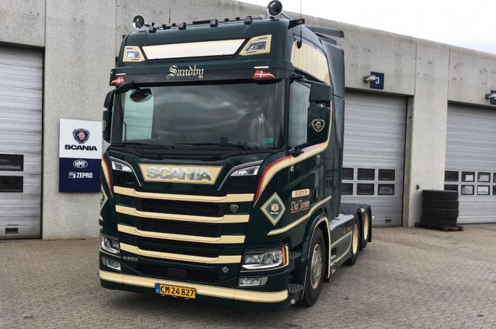 Scania R580 voor Olaf Jensen (DK)