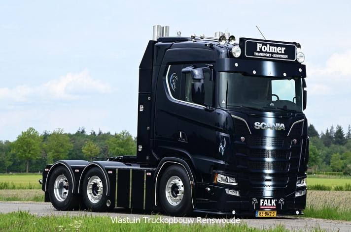 Nieuwe Scania S520 voor Folmer Transport