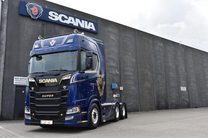 Speciale V8 editie Scania Denemarken