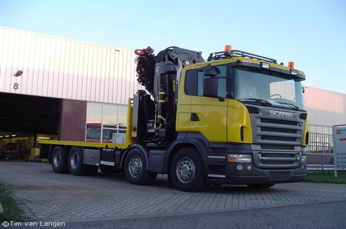 Special: P. v/d Veldt R620 opbouw