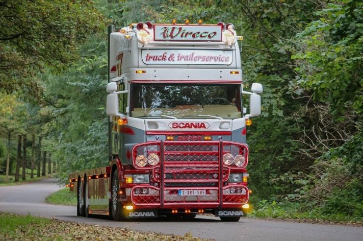 Scania 164 480 voor Wireco Truck & Trailerservice