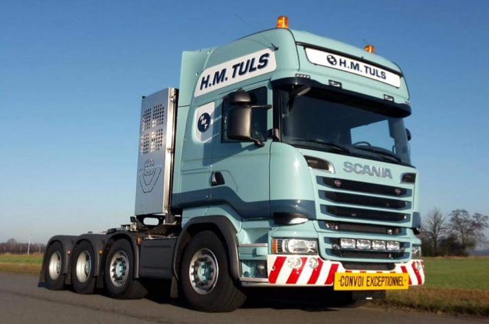 Scania R730 voor H.M. Tuls
