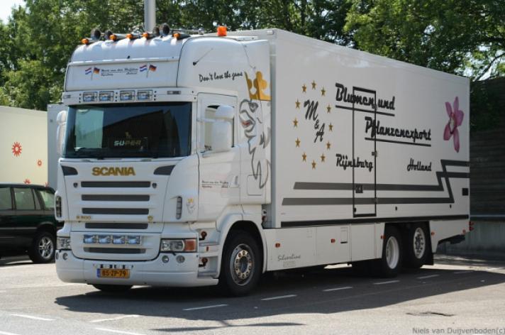 Scania R500 voor Mart van der Weijden