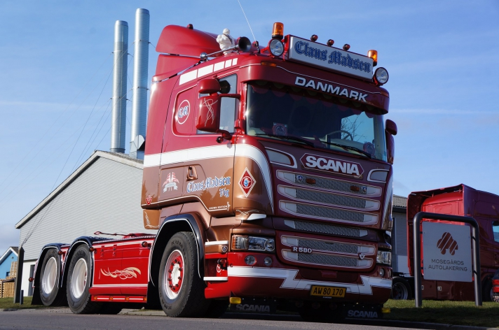 Gebruikte Scania R580 voor Claus Madsen (DK)