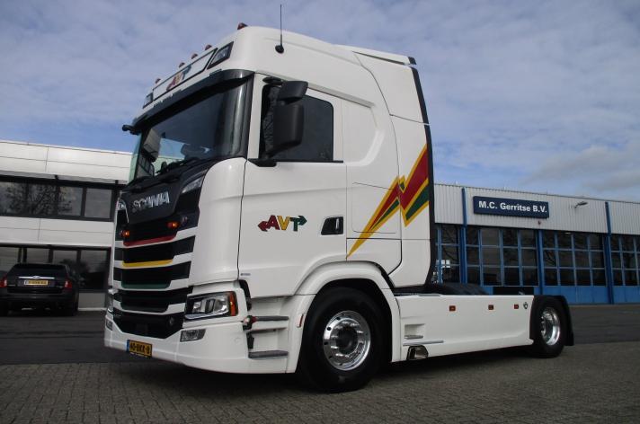 Scania S650 voor Arno Verschoor Transport