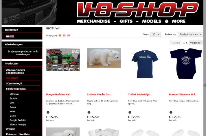 Op zoek naar originele cadeautjes? V8shop.nl