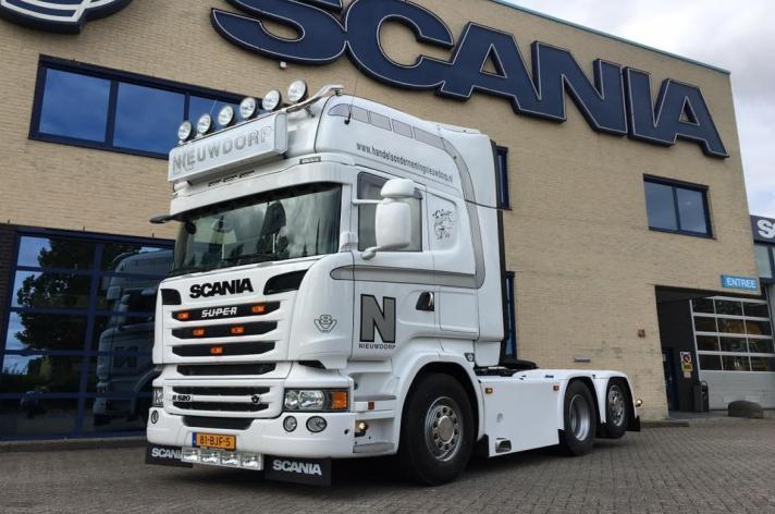 Scania R520 voor Nieuwdorp