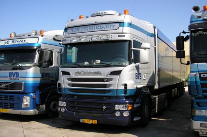Scania R730 voor Rob Herrebout
