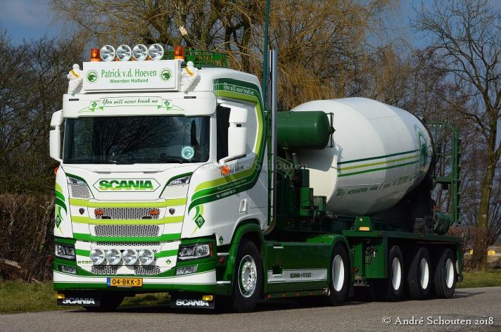 Scania R520 voor Patrick v.d. Hoeven
