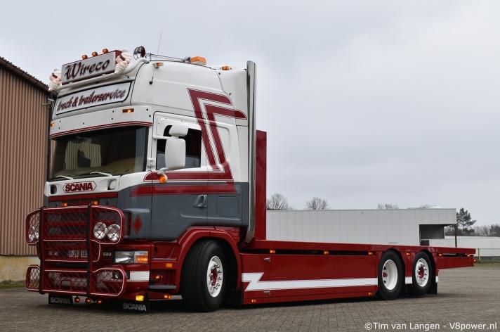 Wireco bvba Scania 164 580