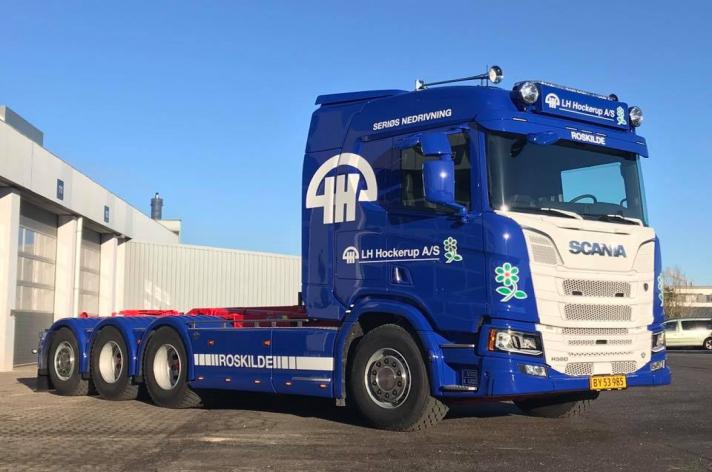 Scania R580 voor LH Hockerup (DK)