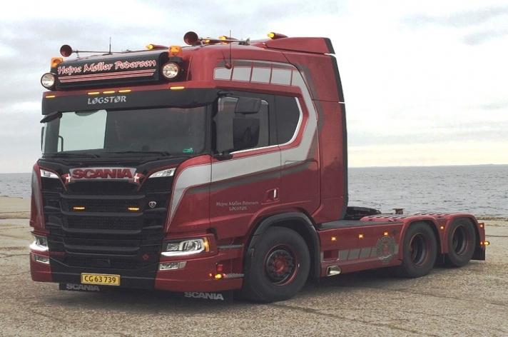 Scania R650 voor Hejne Møller Pedersen (DK)