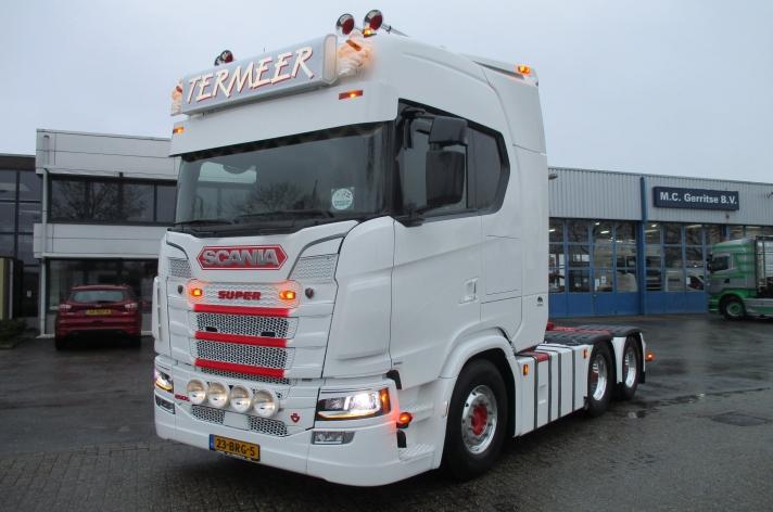 Scania 650S voor Dirk Termeer V.O.F.