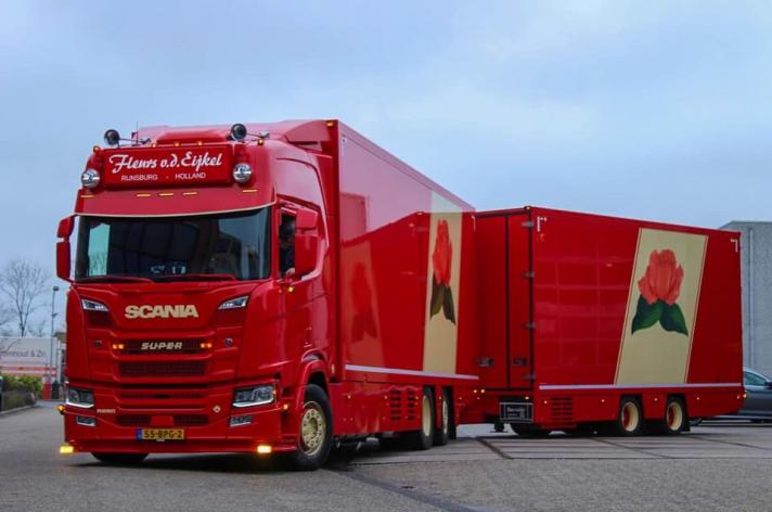 Scania R650 voor Fleurs v/d Eykel