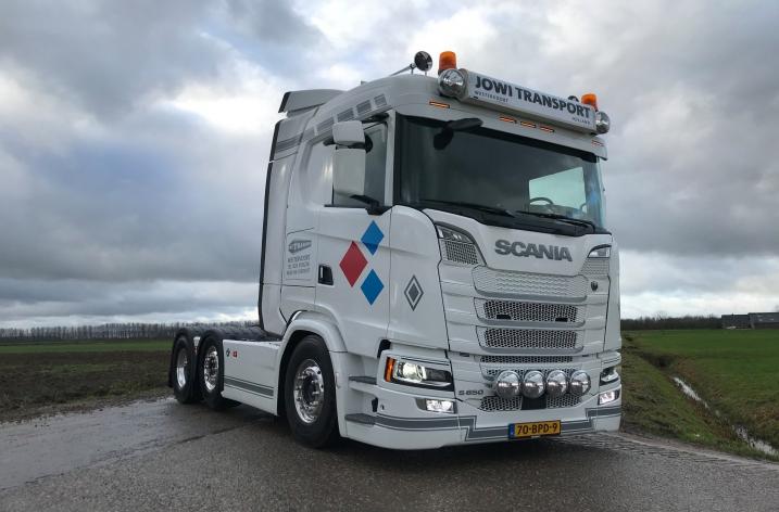 Scania S650 voor Jowi Transport