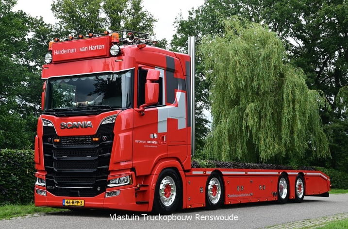 Scania 650S voor Hardeman van Harten b.v.