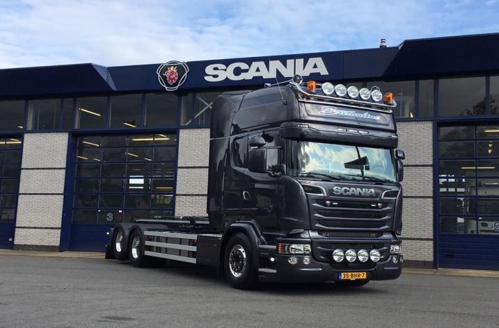 Scania R580 voor Haverman uit Raalte