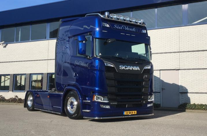 Scania S650 voor Sia Vonk Transport