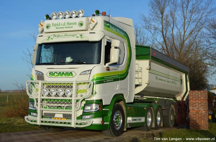 Scania R580 NextGen Patrick v.d. Hoeven