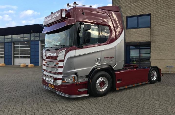 Scania R520 voor Robert Dekker Transport