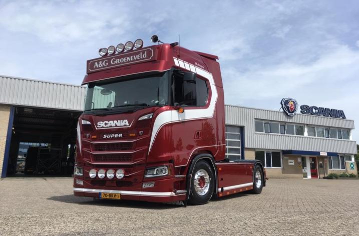 Nieuwe Scania S650 voor A&G Groeneveld