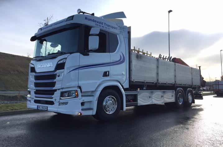 Scania R580 Nextgen voor Rundevold Transport As (NO)