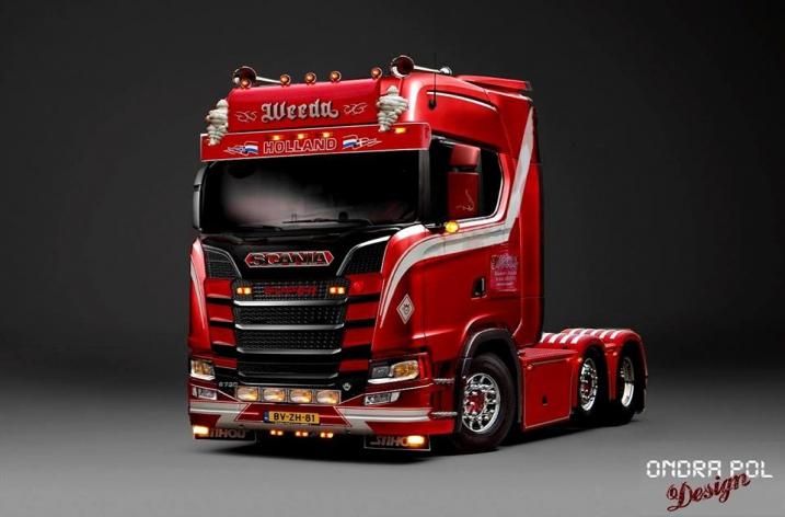 Scania S-serie photoshop