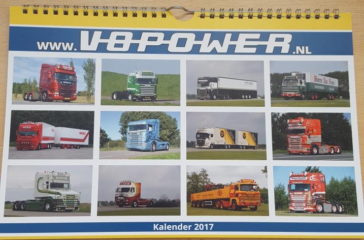 Kalender 2017 nu leverbaar!