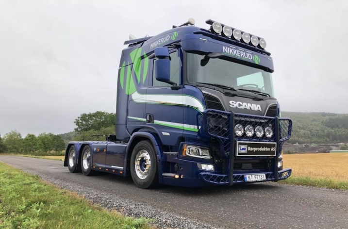 Scania S650 voor Nikkerud transport og kranservice As (NO)