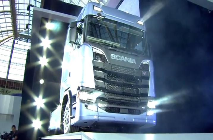 Introductie nieuwe Scania