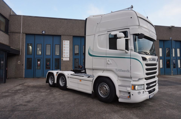 Scania R580 voor T. Hillesvik Transport A/S (NO)