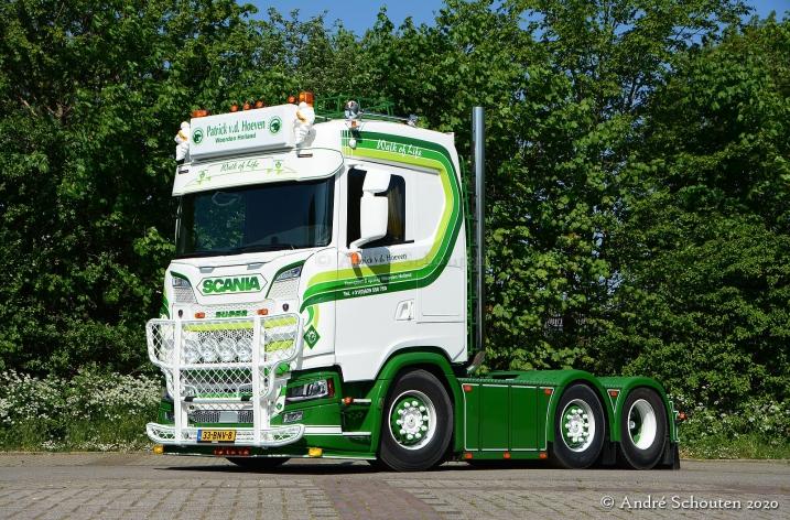 Nieuwe Scania S520 voor P. v/d Hoeven