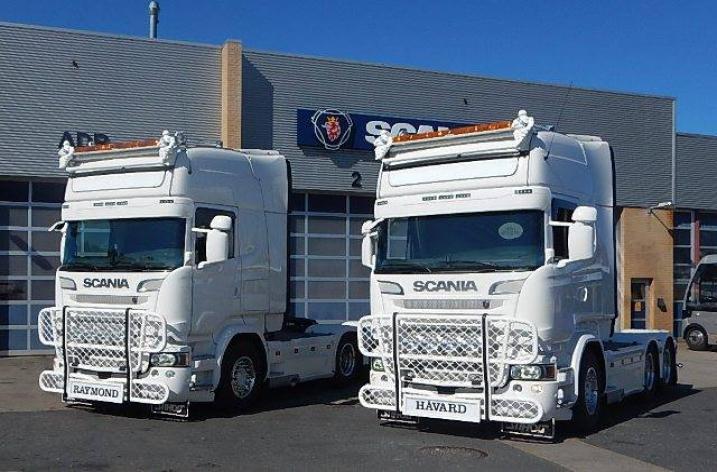 2x Scania R730 voor Total Transport
