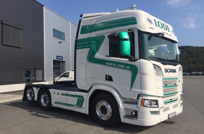 Scania R650 voor Kåre K Lode (NO)