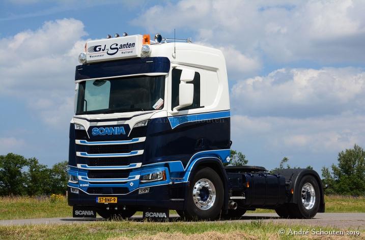 Scania R580 G.J. van Santen