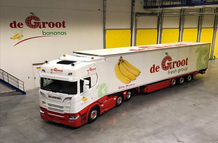Scania S520 voor De Groot Global Logistics