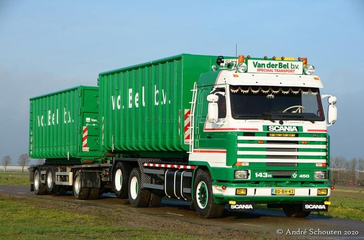 Scania 143 450 Van der Bel