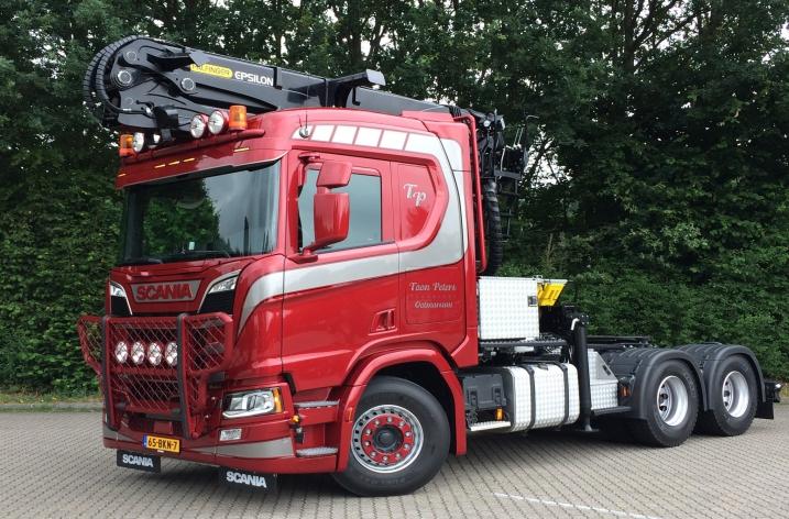 Nieuwe Scania R650 voor Toon Peters Transport