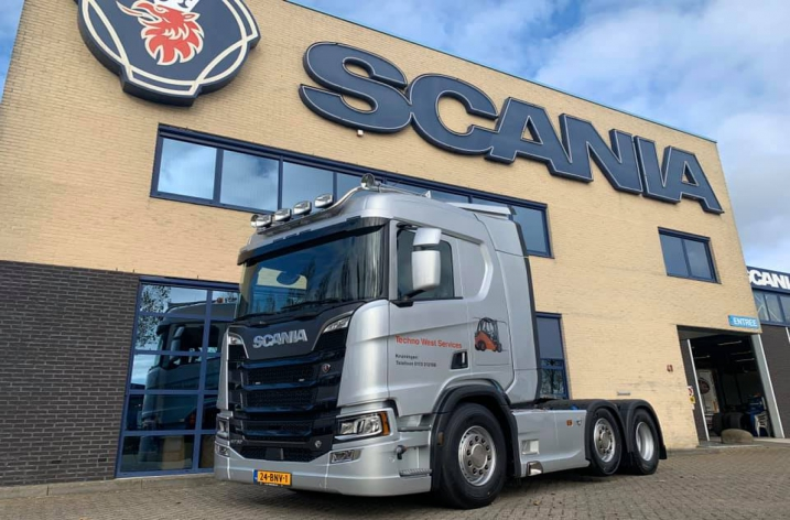 Scania R730 voor Techno West Services