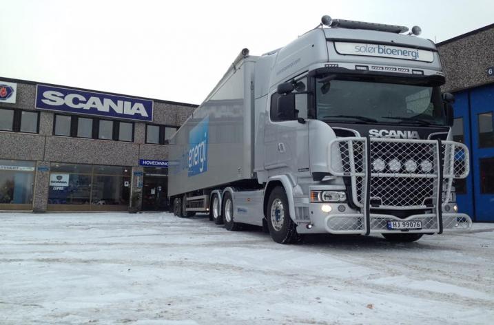 Scania R580 voor Solør Bioenergi AS (NO)