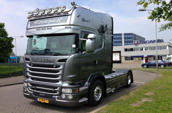 Scania R520 voor Alsemgeest Transport