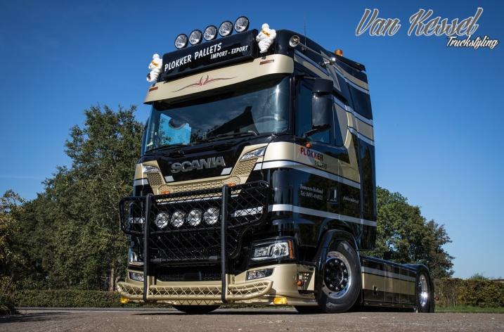 Scania S520 voor Plokker Pallets