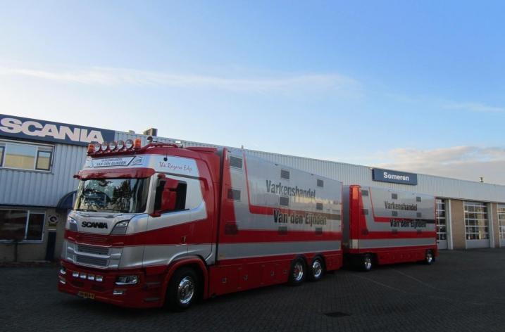 Scania S580 voor fa. Van den Eijnden