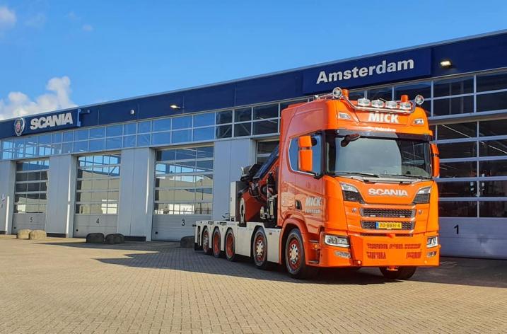 Scania 650S voor Mick Volendam