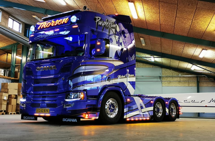Scania R650 voor Michael Thorsen