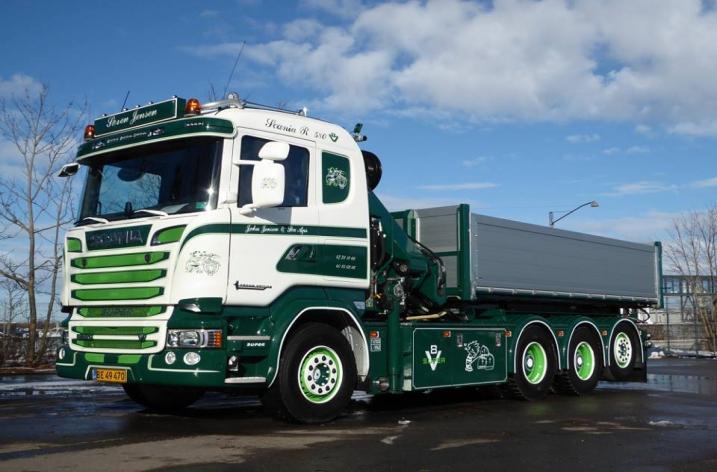 Scania R580 voor John Jensen (DK)