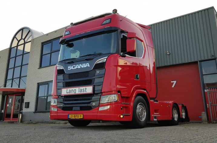 Scania S730 voor DuoPak uit Zwaag